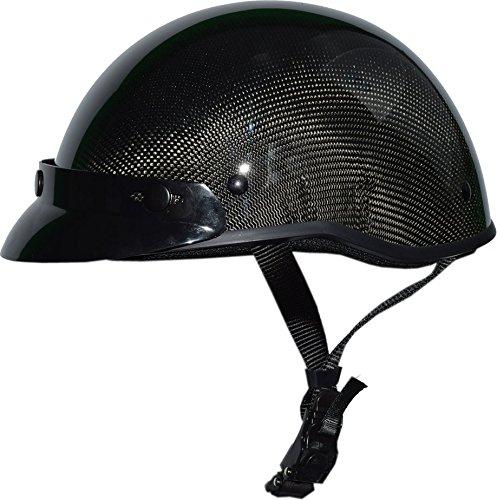 Low Profile Carbon Fiber Motorcycle Helmets - 1