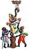 Karigaari Wrought Iron Makkhan Chor Wall Hanging Art (33 cm x 4 cm x 58 cm)