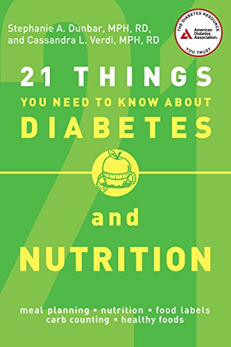 21 Things You Need to Know About Diabetes and Nutrition