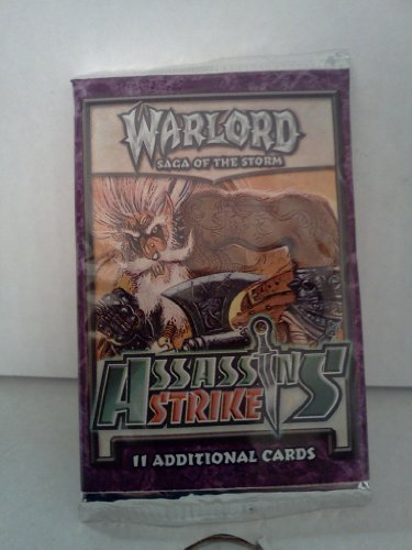 Warlord Saga of the Storm Assassins' Strike Booster Pack by AEG