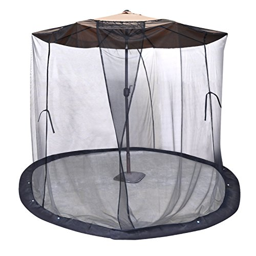 Best Benefitusa Patio Umbrellas - BenefitUSA Insect Net Mosquito Net Black