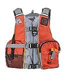 MTI Calcutta Fishing Life Jacket - Orange/Gray - Universal
