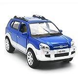 KMT Alloy Diecast Car Models HYUNDAI TUCSON SUV Model Cars (Blue)