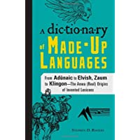 Dictionary of Made-Up Languages