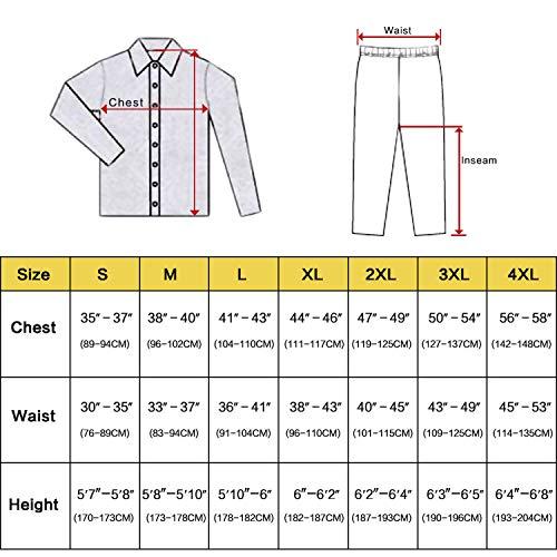 Mens Silk Satin Pajamas Set Pajama Pyjamas Set Sleepwear Loungewear,Wine Red,L by Toping Fine sleepwear (Image #2)