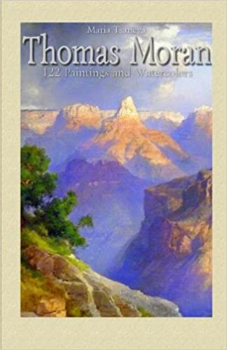 thomas moran 122 paintings and watercolors