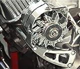 BBC Chevy Chrome Aluminum Alternator Bracket Long Water Pump LWP Chrome 454