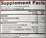 Symbiotics - Colostrum Plus Chewables – Wild Cherry – 120 Capsules (new formula)