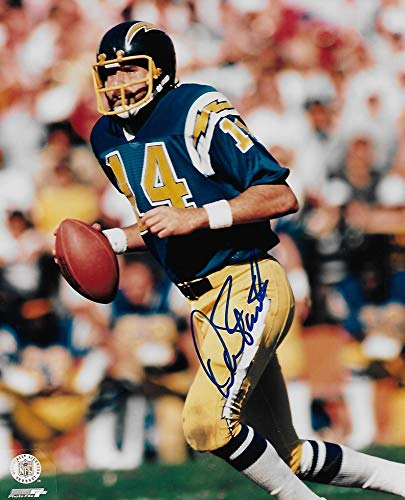 Dan Fouts San Diego Chargers signed autographed, 8x10 Photo, COA with the proof photo will be included
