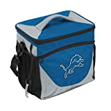 Logo Brands NFL Detroit Lions 24 Can Cooler, One Size, Carrot