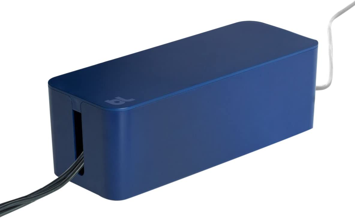 BlueLounge Cablebox /& Cablebox Mini Cable Management System Blue White Black