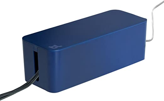 Black White BlueLounge Cablebox /& Cablebox Mini Cable Management System Blue