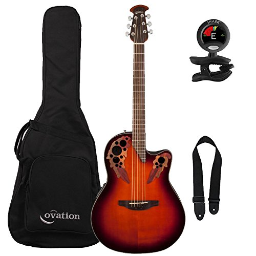 Ovation CE44-1 Celebrity Elite Mid Depth Cutaway Acoustic-