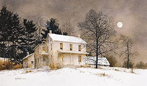 The Road Home by Ray Hendershot LANDSCAPE ART PRINT