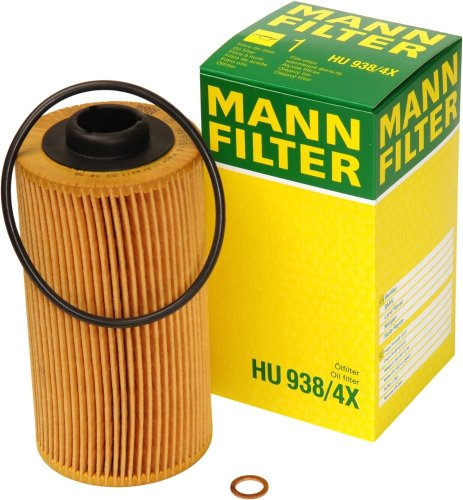 2003 Bmw 540i Oil (Mann-Filter HU 938/4 X Metal-Free Oil Filter)