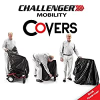Mobility Cover for Scooter or Powerchair - Heavy Duty Light Vinyl - Small Powerchair Size