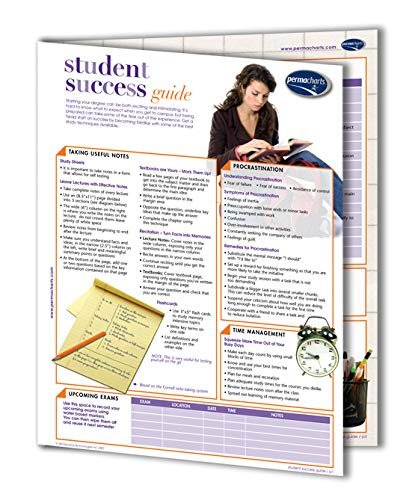 - Student Success Guide - 4-Page Laminated Quick Reference Guide by Permacharts