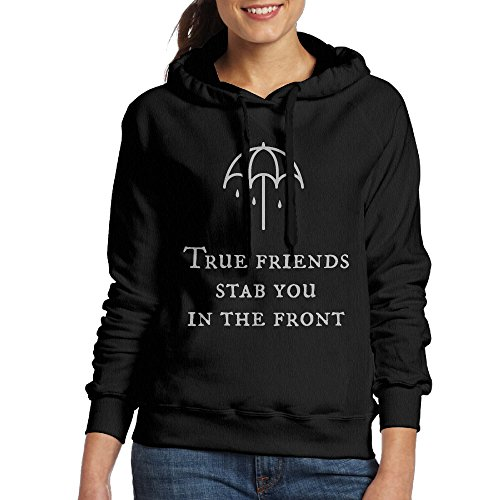 fan products of Bring Me The Horizon Women's Fleece Sweatshirt S Black