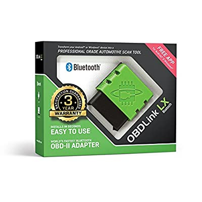 ScanTool OBDLink LX Bluetooth: Professional Grade OBD-II Automotive Scan Tool for Windows and Android – DIY Car and Truck Data and Diagnostics: Automotive