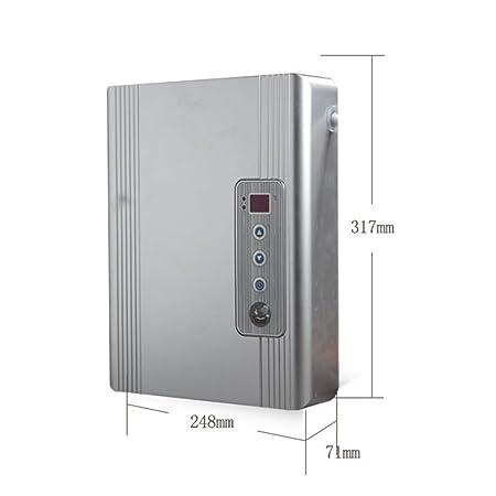 220V, 4800W, Inteligencia de alta definición Suministro de calentador de agua eléctrico instantáneo Agua fría y caliente Cocina de agua caliente inoxidable ...
