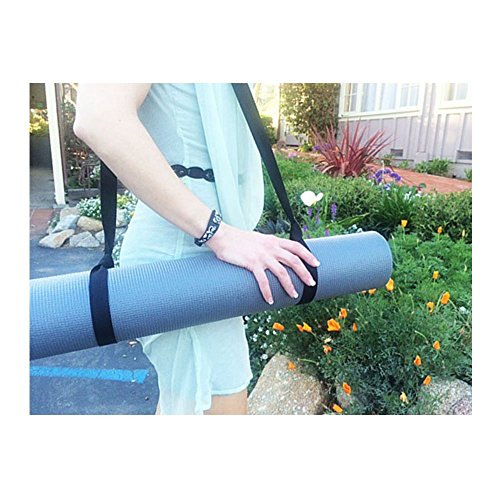 FMS Yoga Mat Sling Harness Yoga Mat Holder to Easily Carry Mat that Comes in Variety of Colors and Doubles as Stretch Straps