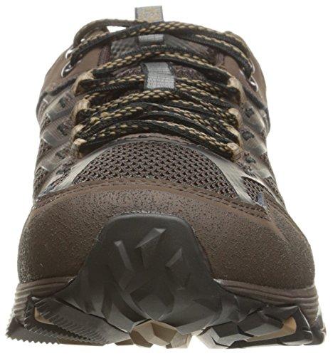 Merrell Moab FST escursione impermeabile di scarpe da uomo Marrone