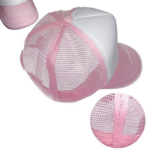 Tazprab Custom Flower-3D Rose Kids Mesh Trucker Cap Hat Adjustable Baseball Caps by Tazprab (Image #6)