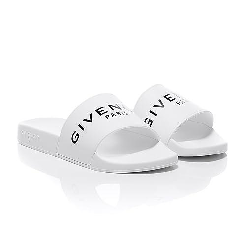 f0e97d66606 Givenchy White Slider Sandals (41 EU)  Amazon.co.uk  Shoes   Bags
