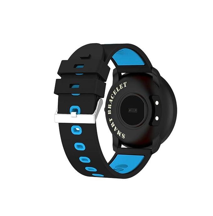 Magiyard SmartWatch Podómetro, Smart Wrist Band Sleep Deportes Actividad Fitness Pulsador de Ritmo cardíaco (Azul): Amazon.es: Ropa y accesorios
