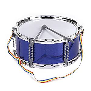 ammoon jazz snare drum musical toy percussion instrument with drum sticks strap for. Black Bedroom Furniture Sets. Home Design Ideas