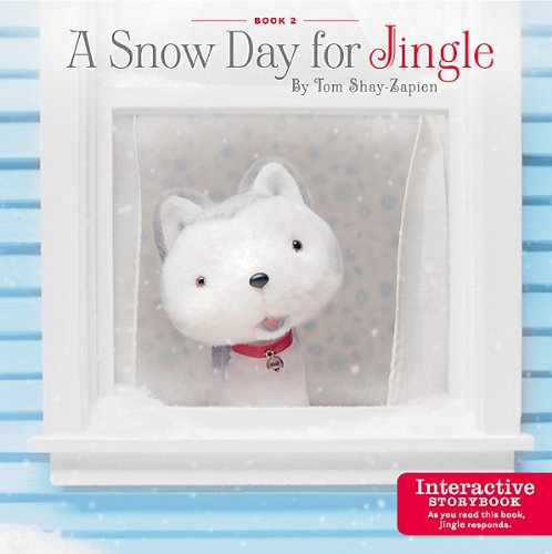 Hallmark Jingle the Husky Pup Interactive Story Book #2
