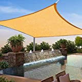 HOTUEEN Durable Practical Solid Breathable Sunscreen Tool Sun Shade Sail Shade Cloth