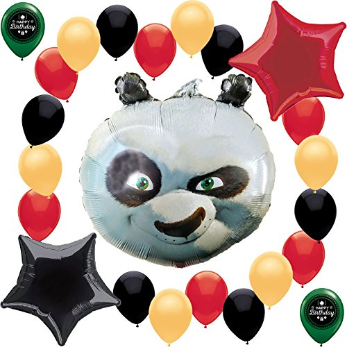 (Kung Fu Panda Balloon Decoration)