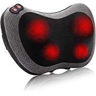 Papillon Back Massager with Heat,Shiatsu Back and Neck Massager with Deep Tissue Kneading,Electric Back Massage Pillow for Back,Neck,Shoulders,Legs, Foot,Body Muscle Pain Relief,Use at Home,Car,Office