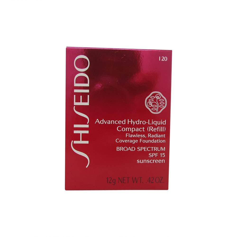 Shiseido Foundation femme/woman, Advanced Hydro-Liquid Compact Refill Nummer I20 Natural Light Ivory, 1er Pack (1 x 12 ml) Shiseido-0729238500631 SHI50063