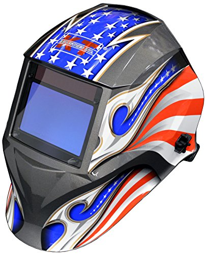 K T Industries 4 1077 Elite Series Justice  Auto Darkening Welding Helmet