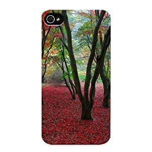 1e8dd575962 Awesome Autumn Background Flip Case With Fashion Design For Iphone 4/4s As New Year's Day's Gift