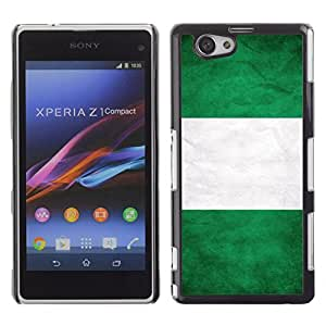 Shell-Star ( National Flag Series-Nigeria ) Snap On Hard Protective Case For SONY Xperia Z1 mini