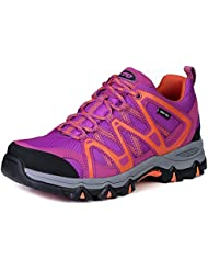 The First Outdoor Women Waterproof Breathable Climbing Walking Hiking Shoes Sneaker