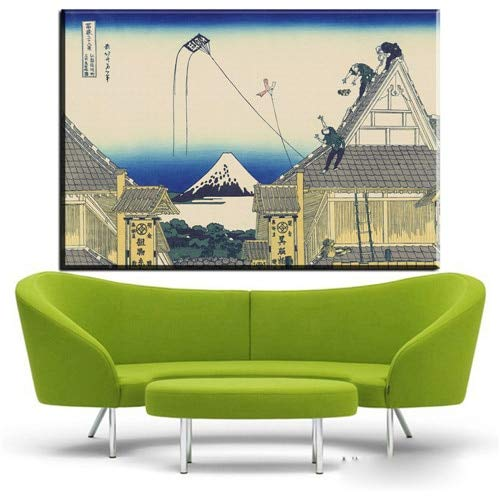 Used, Zamtac ZZ382 Climbing-On-Mt-Fuji Poster Painting by for sale  Delivered anywhere in Canada