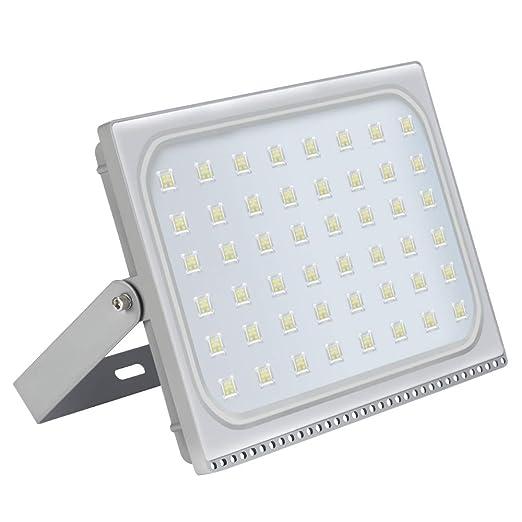300W Foco LED Exterior, 24000LM 6000K Blanco Frio Ultra Delgado ...
