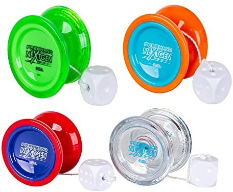 Flash Yoyo Ball for Beginner Poly Carbonate Plastic Yoyo Christmas  k