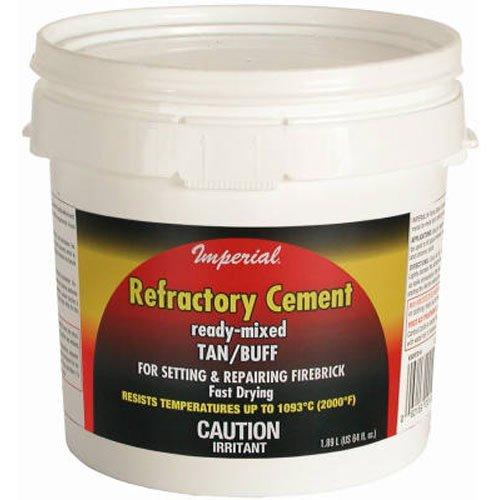 UNITED STATES HDW MFG/U S HA KK0307 64OZ Refractory Cement