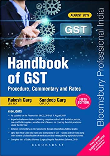 Handbook of GST – Procedure, Commentary and Rates