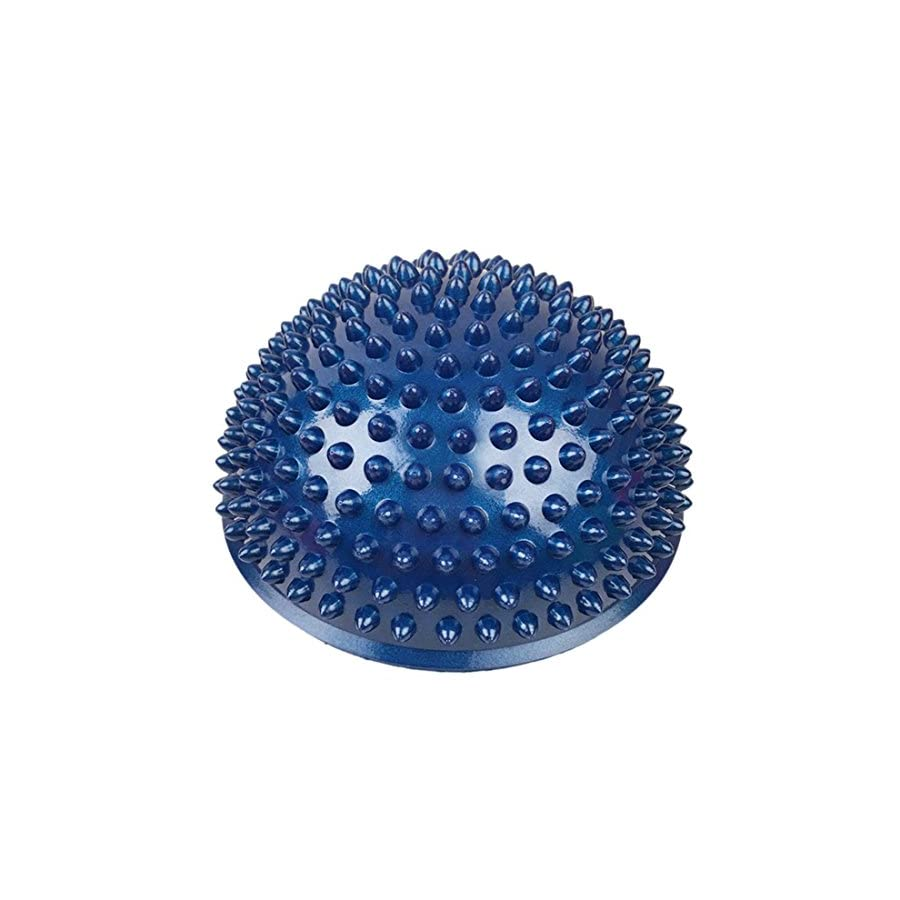 PeleusTech® Balance Pods, 16cm/6.3inch Hedgehog Balancing Pods Domed Stability Pods Half Round Yoga Balance Spiky Massager Ball Stepping Stone Foot Sole Trigger Point Hemisphere