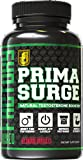 PRIMASURGE Natural Testosterone Booster for Men - Boost Lean Muscle Growth, Strength, Libido, Energy, & Fat Loss – Premium Cutting-Edge Ingredients - 60 Veggie Caps - 100% Money-Back Guarantee