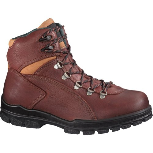 Wolverine Women's Tacoma Hiker 6 Inch Steel Toe EH Work Boot, Acorn, 9.5 M US