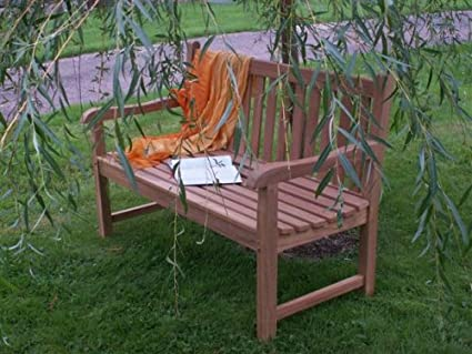 HUMBER TEAK 1.3 METRE LADY EMILY CLASSIC BENCH. MADE FROM TOP GRADE SVLK  COMPLIENT TEAK Amazon.co.uk Garden & Outdoors