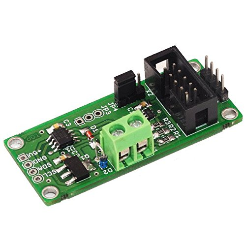 Current Loop Transmitter 4-20mA XTR116U I2C Interface Industry Standard Wide Loop Supply Range: 7.5V to 36V for Arduino Raspberry pi and Any MCU