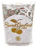 SweetGourmet Jingle Mix - Christmas Sprinkles & Nonpareils (15oz)